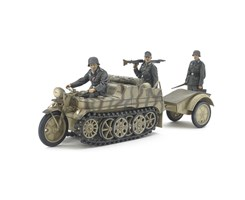 1/35 German Sd.Kfz.2 Kettenkraftrad (Mid-Productio